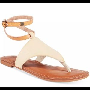 NEW Roxy Women's Jacinda Flat SandalsNatural